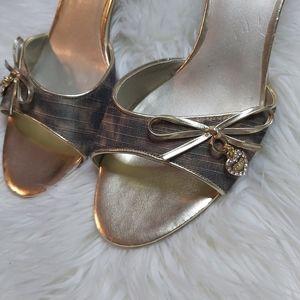 Y2K 2000's Guess Open Toe Kitten Heel Charm